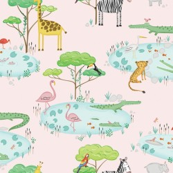 Papel infantil Crocodile Lake