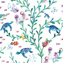 Papel infantil Under The Sea