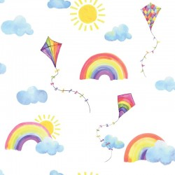 Rainbows and Flying Kites