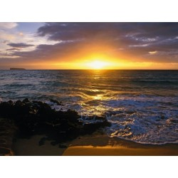 Fotomural Makena Beach